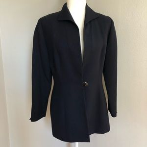 Christian Dior Navy Wool Blazer